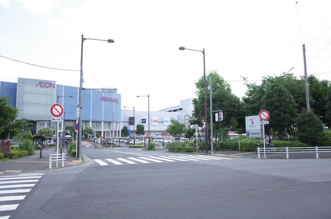 イオンモール武蔵村山交通プラザ(立川バス・西武バス)