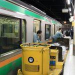 高崎線の新聞輸送列車(837M・12:30発高崎行)
