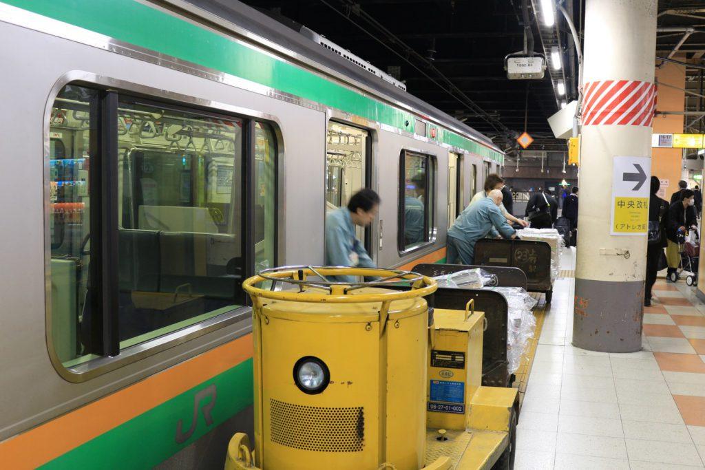 高崎線の新聞輸送列車(837M・12:30発宇都宮行)