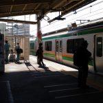 高崎線の新聞輸送列車(839M・13:30発高崎行)