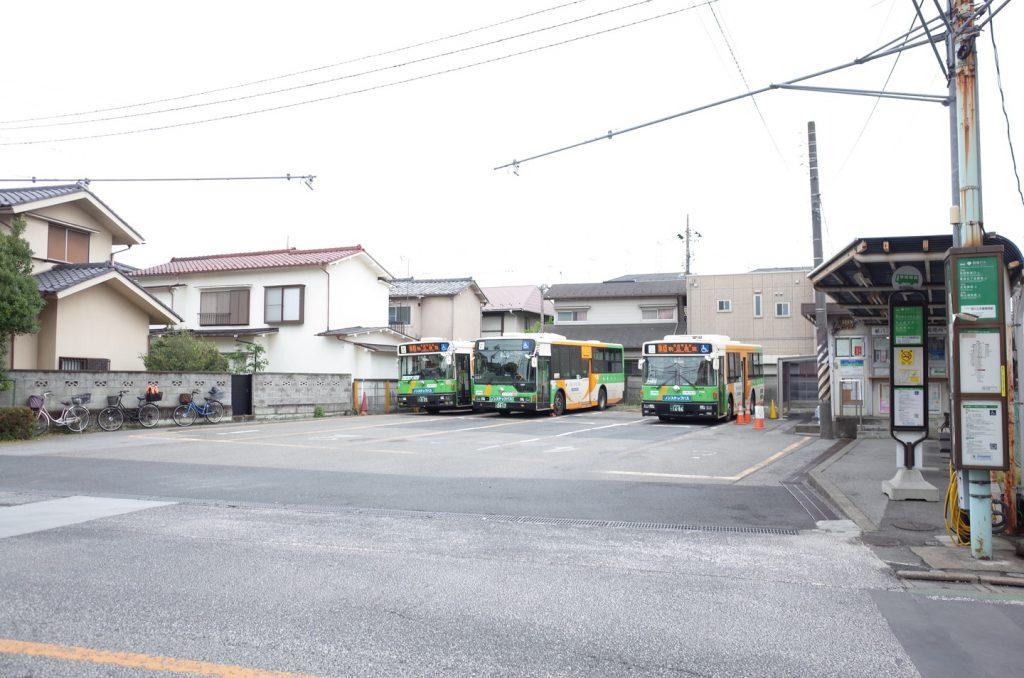 荒川土手操車所(都営バス)