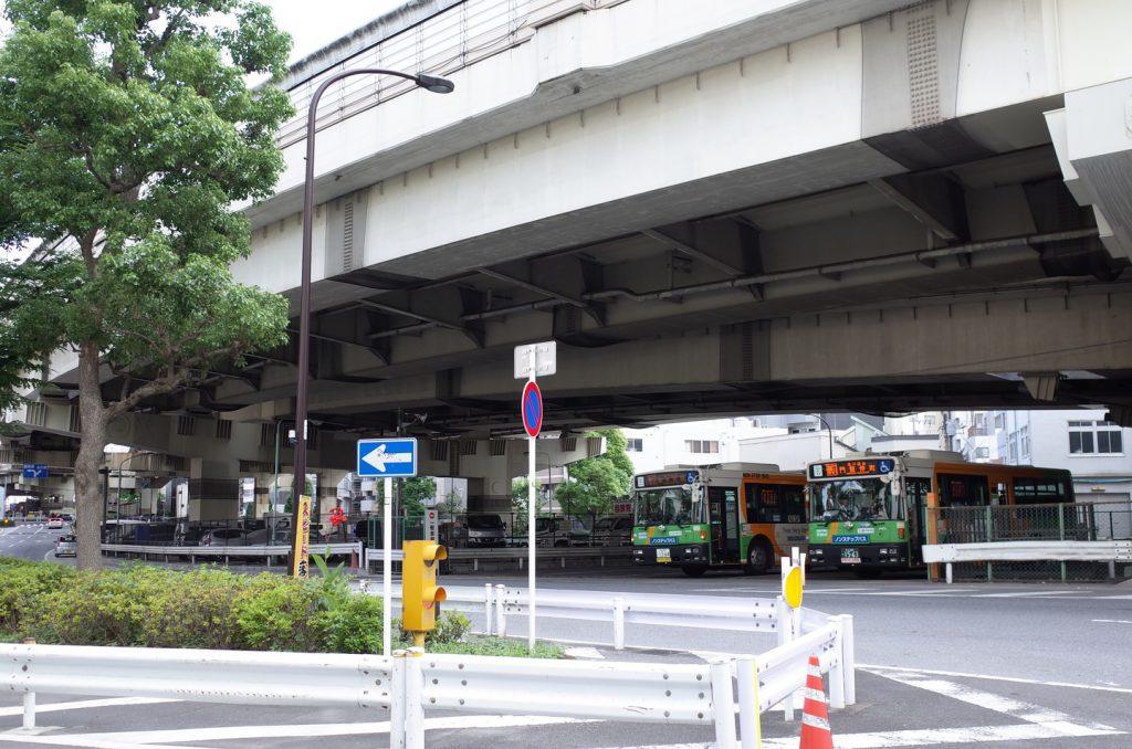 門前仲町折返所(都営バス)