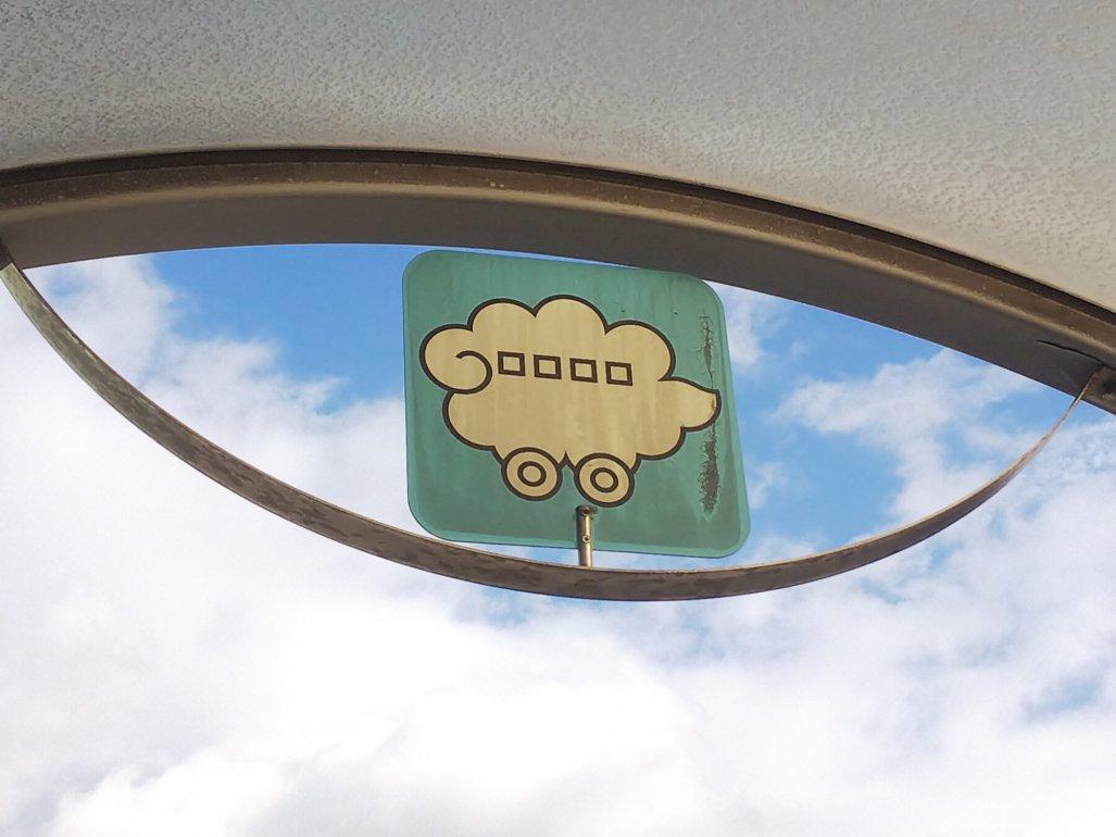 名古屋市バス 謎のピクトグラム